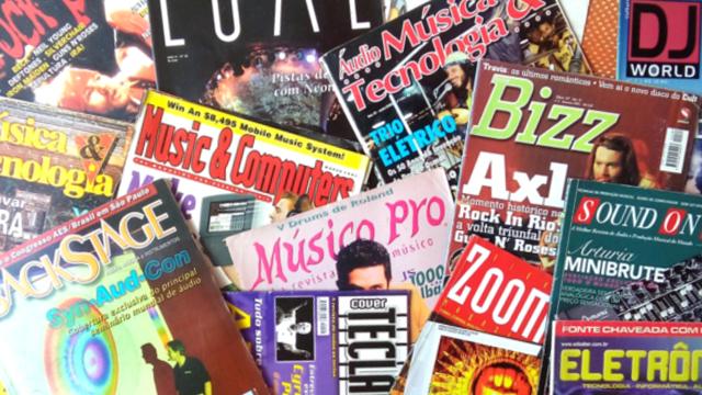 Revistas de áudio –Links!